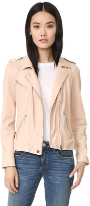 Rebecca Taylor Washed Leather Jacket $895 thestylecure.com