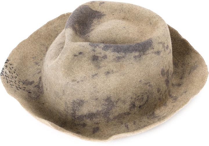 Horisaki Design & Handel fedora hat
