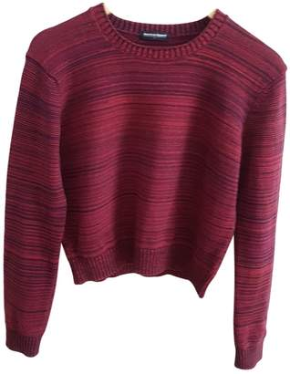American Apparel Burgundy Cotton Knitwear