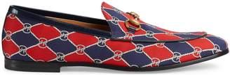 Gucci Jordaan jacquard loafer