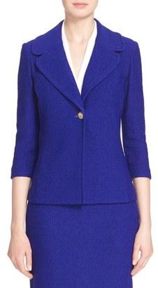 Women's St. John Collection 'Newport' Knit Jacket $1,395 thestylecure.com