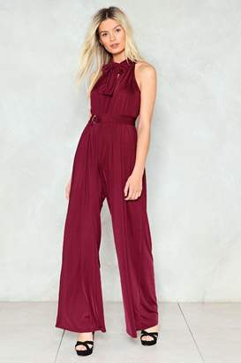 Nasty Gal Show Business Wide-Leg Jumpsuit