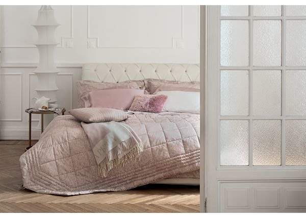 Virgina Quilted Cotton Satin Bedspread