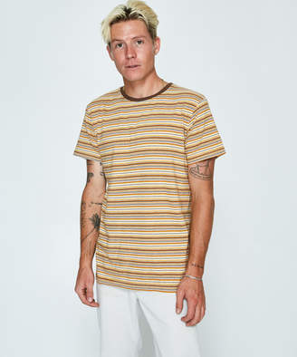 rhythm Everyday Stripe T-Shirt Almond