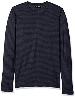 Velvet by Graham & Spencer Men's Velvet Westy Stripe Long Sleeve Sweater