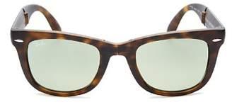 Ray-Ban Men's Folding Wayfarer Sunglasses, 50mm