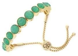Jessica Simpson Crystal-Embellished Slider Bracelet