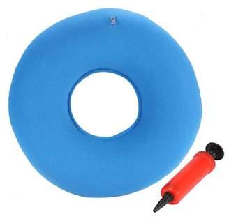 TMISHION Inflatable Chair Cushion Chair Pad Haemorrhoids Cushion Round Chair Pad Hip Support Hemorrhoid Seat Cushion With Pump(Blue)