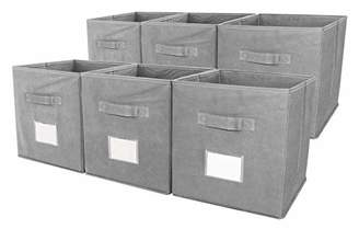 ESYLIFE Foldable Storage Cubes Closet Bins with Label Holder and Handle