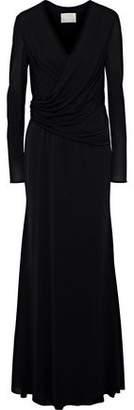Jason Wu Wrap-effect Draped Crepe Gown