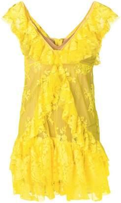 Aniye By ruffle-trim short dress