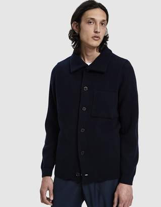 A Kind Of Guise Jiri Knit Jacket in Navy