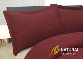 Natural Comfort Microfiber Blanket Coverlet