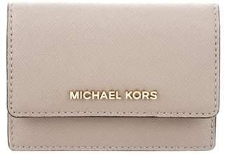 MICHAEL Michael Kors Leather Flap Wallet