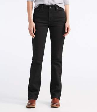 L.L. Bean L.L.Bean True Shape Jeans, Straight-Leg