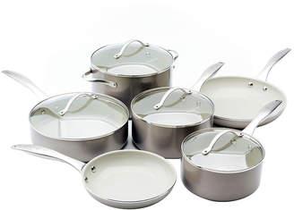 JCPenney TRISHA YEARWOOD Trisha Yearwood 10-pc. Nonstick Aluminum Cookware Set
