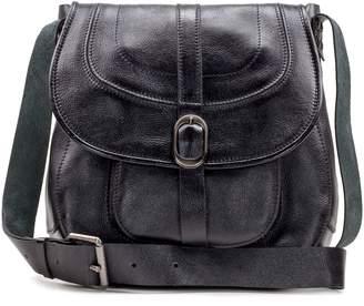 Patricia Nash Leather Saddle Bag - Barcellona