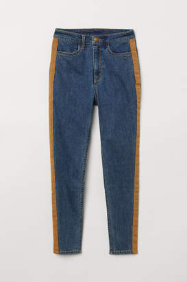 H&M Super Skinny High Jeans - Blue