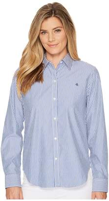 Lauren Ralph Lauren Striped Cotton Shirt Women's T Shirt