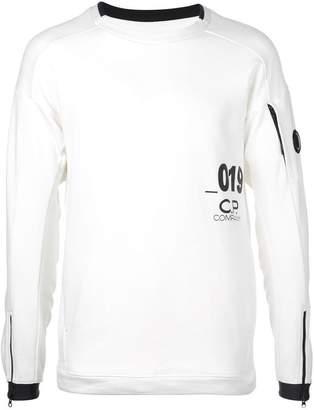 C.P. Company goggle crew neck sweatshirt