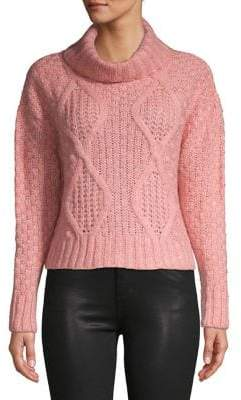 Miss Selfridge Cabled Knit Sweater