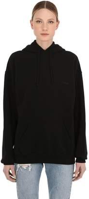Vetements Oversize Cotton Jersey Sweatshirt Hoodie