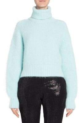 Each X Other Crop Turtleneck Knit Sweater