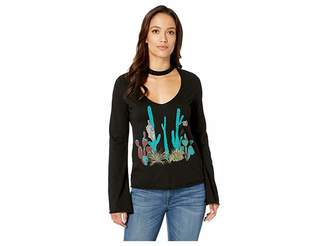 Rock and Roll Cowgirl Long Sleeve T-Shirt 48T8301
