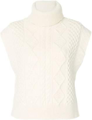 Saint Laurent knitted roll-neck jumper