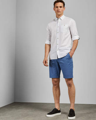 Ted Baker SELSHOR Cotton chino shorts