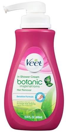 Veet Botanic Inspirations In Shower Cream Pump