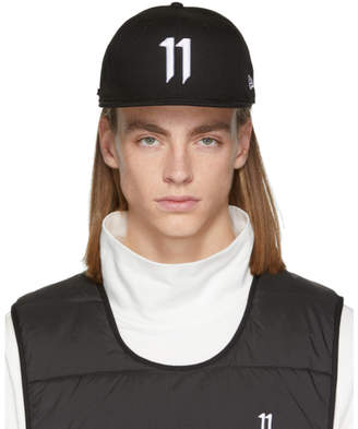 11 By Boris Bidjan Saberi Black New Era Edition Logo Cap
