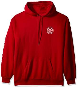 Brixton Men's Oath Sv Hood Fleece