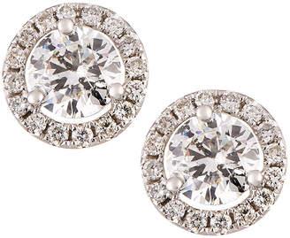 Neiman Marcus Diamonds 18k White Gold Diamond Stud Earrings, 2.40tcw