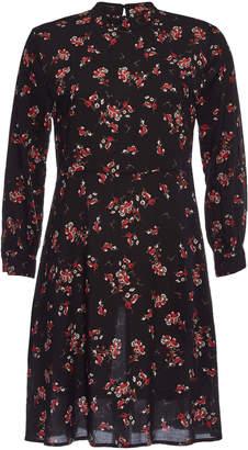 Velvet Juliet Printed Dress