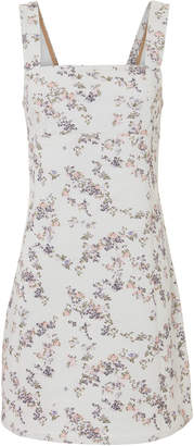 Rag & Bone Floral Denim Mini Dress