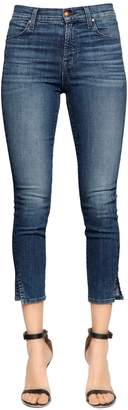J Brand Alana High Rise Cropped Skinny Jeans