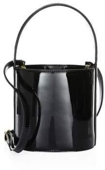 Staud Bisset Patent Bucket Bag
