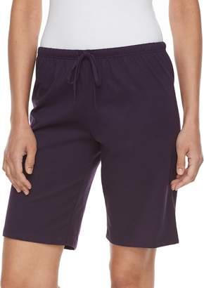 Jockey Women's Pajamas: Bermuda Pajama Shorts