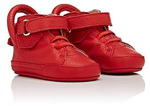 Buscemi Infants' 100MM Leather Sneakers-Red