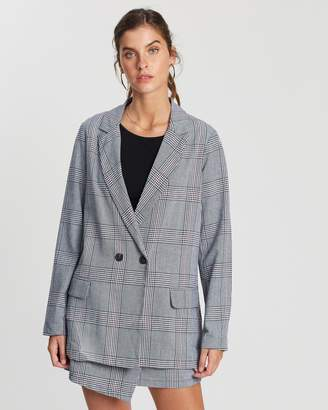 The Fifth Label Terrain Check Blazer