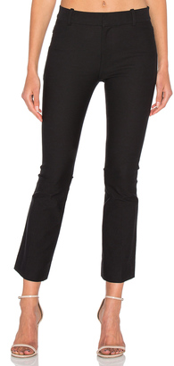DEREK LAM 10 CROSBY Cropped Flare Trouser $325 thestylecure.com