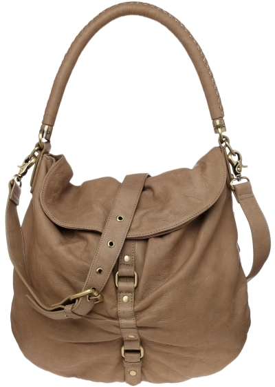 Sabina Leather Convertible Hobo
