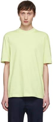 Lanvin Green High Collar T-Shirt