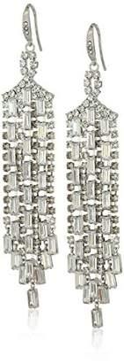 Carolee Glass Ceiling Drama Chandelier Drop Earrings
