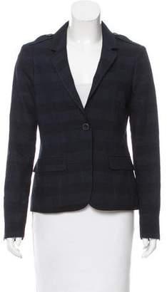 Burberry Striped Wool-Blend Blazer w/ Tags