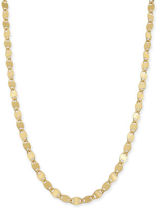 "Giani Bernini Twist Disc Link 18"" Chain Necklace in 18k Gold-Plated Sterling Silver Vermeil"
