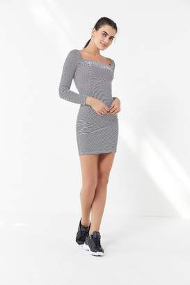 Urban Outfitters Mariella Square-Neck Mini Dress