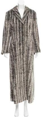 Emporio Armani Faux Fur Coat