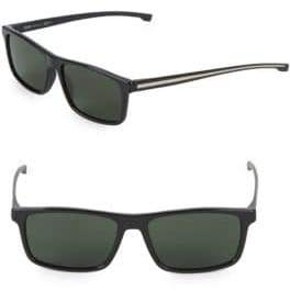 HUGO BOSS 54MM Rectangle Sunglasses